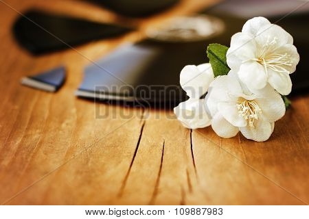 White Flowers On A Broken Record