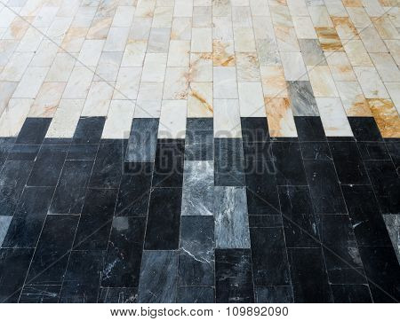 Duo Tone Marble Tile