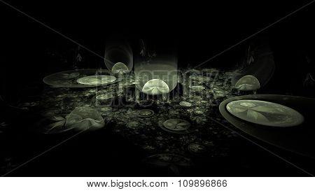 Alien Dreamscapes - Space Garden