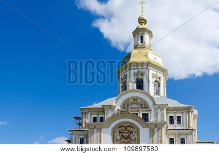 Annunciation Cathedral, Holy Trinity Seraphim-diveevo Convent, Russia