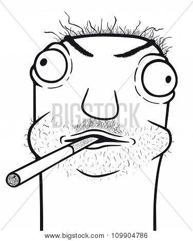 Smoker And Alcoholic