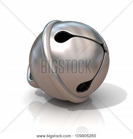 Sleigh bell 3D render