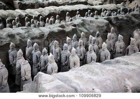 Terracotta Warriors of Xian