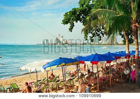 Pattaya Beach Lounge, Thailand