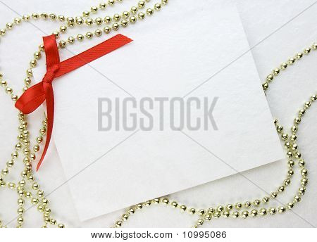 Greeting cards on paper