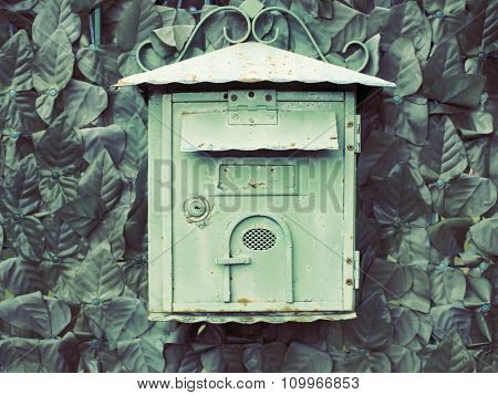 Vintage Postbox Outdoor