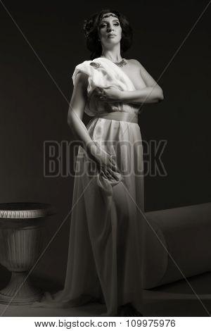 Venus/aphrodite Styled Beautiful Woman