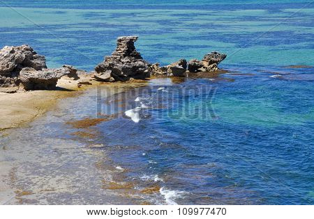 Cape Peron: Limestone Formations in Western Australia