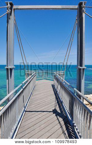 Indian Ocean Viewing Platform: Cape Peron, Western Australia
