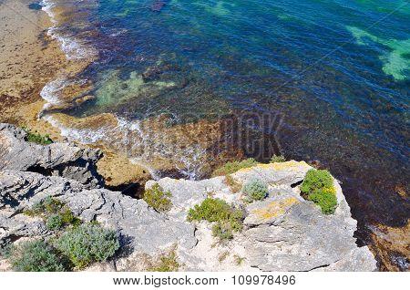 Rocky Coast at Cape Peron, Western Australia