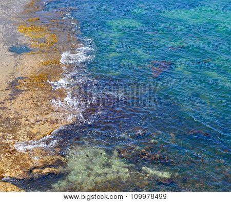 Elevated view of Indian Ocean: Cape Peron, Western Australia