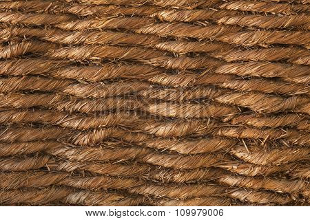 Basketwork Brown Background