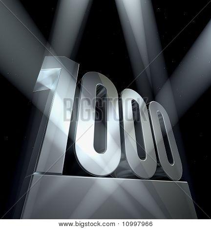 Number 1000
