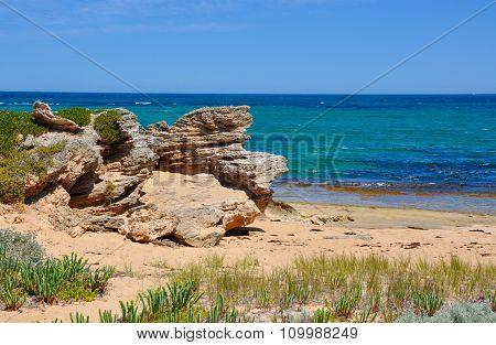 Rocky Beach at Cape Peron, Western Australia