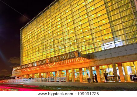 Opera House at The Arsht Center in Miami Florida