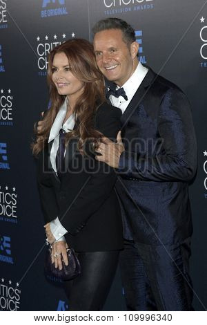 LOS ANGELES - MAY 31:  Roma Downey, Mark Burnett at the 5th Annual Critics' Choice Television Awards at the Beverly Hilton Hotel on May 31, 2014 in Beverly Hills, CA