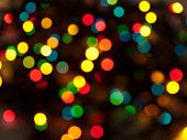 blurred lights natural bokeh abstract background dark poster