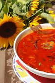 Fisherman's Soup ,Hot Paprika Based Fish Soup Prepared In The Pannonian Region poster