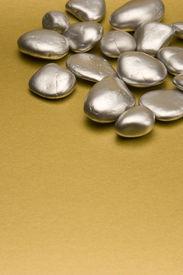 Silber Steine