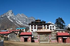 Tengboche - Buddhist Tibetan Monastery in Khumbu