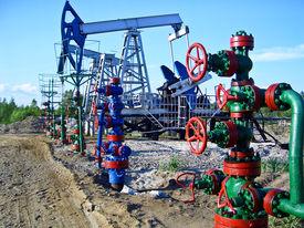 Oil pumps in Surgut
