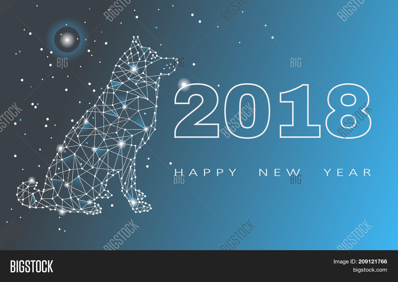 2018 Happy New Year Image Photo Free Trial Bigstock