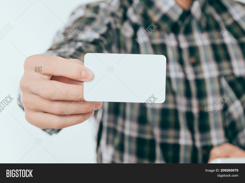 Business Card Mockup: Image & Photo (Free Trial) | Bigstock