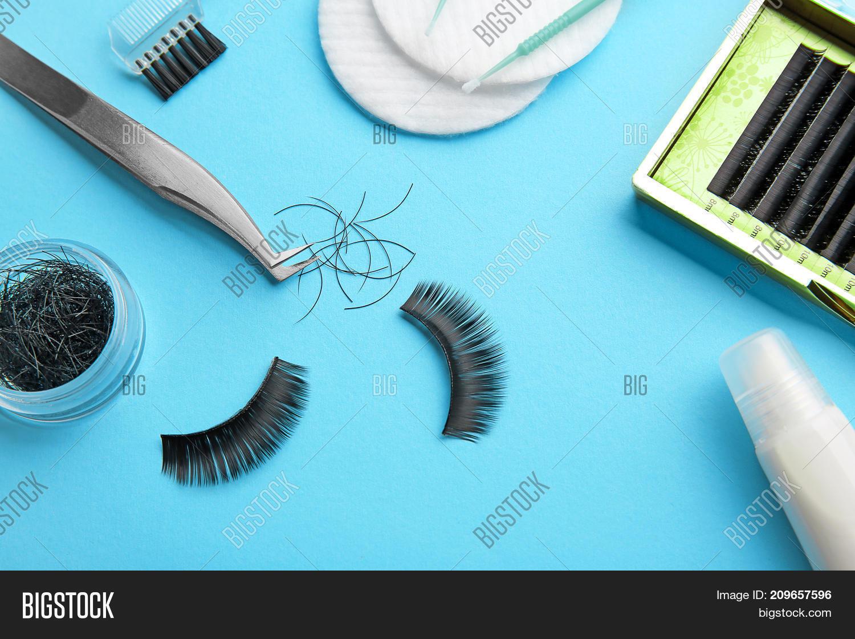 45ec346fa35 Set False Eyelashes On Image & Photo (Free Trial)   Bigstock