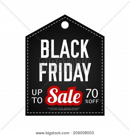 Black Friday sale. Vector design template. Black friday banner. Sale stickers. Discount, advertising, marketing.