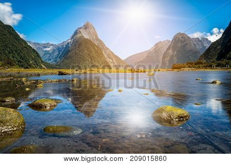 Milford Sound In New Zealand