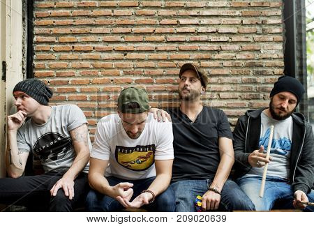 Bandmates spending some time together