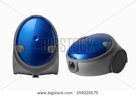 Vacuum Cleaner On A White Background