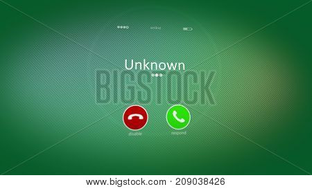 Unknown Phone Calling Picture