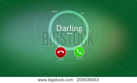 Honey Phone Calling