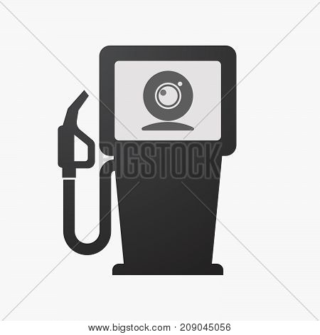 Isolated Fuel Pump With A Web Cam