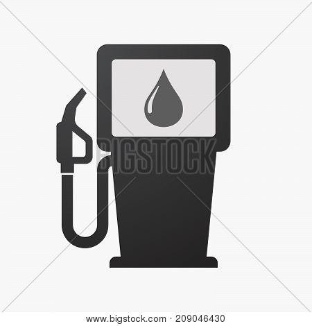 Isolated Fuel Pump With A Fuel Drop