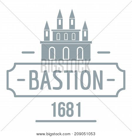 Royal bastion logo. Simple illustration of royal bastion vector logo for web