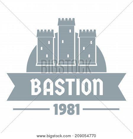 Kingdom bastion logo. Simple illustration of kingdom bastion vector logo for web