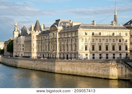 The Concergierie, a former royal palace and prison in Paris