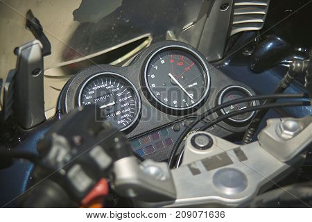 The Odometer Of A Motorcycle 2