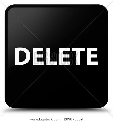 Delete Black Square Button