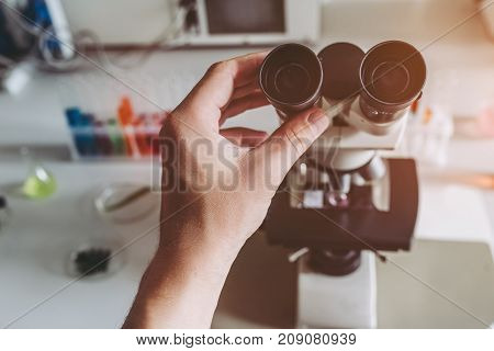 Laboratory Scientist Working