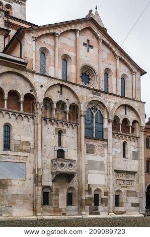 Modena Cathedral is a Roman Catholic Romanesque church in Modena Italy. Consecrated in 1184 it is an important Romanesque building in Europe and a World Heritage Site.