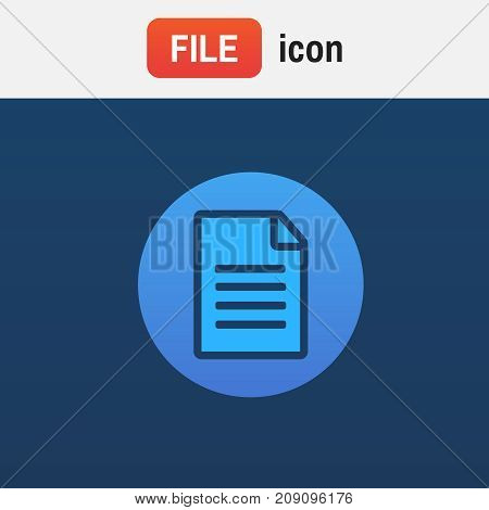 Pdf Icon Document. File Download Icon. Document Text, Symbol