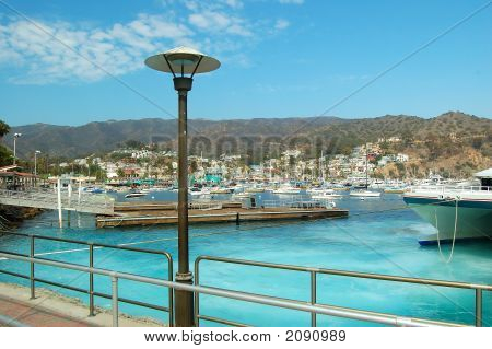 View Of Harbor, Avalon, Catalina Island, California