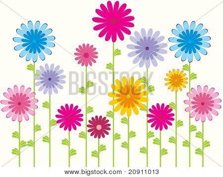 flower pattern background, wallpaper