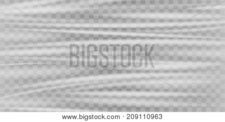 a real transparent plastic warp texture background