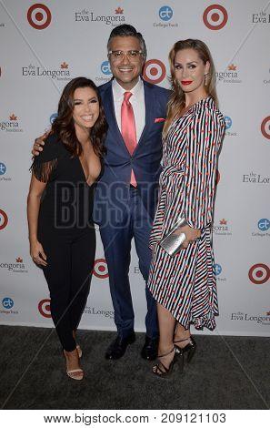 LOS ANGELES - OCT 12:  Eva Longoria, Jaime Camil at the Eva Longoria Foundation Annual Dinner at the Four Seasons Hotel on October 12, 2017 in Beverly Hills, CA