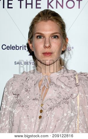 LOS ANGELES - OCT 12:  Lily Rabe at the Tie The Knot Celebrates 5-Year Anniversary at the NeueHouse on October 12, 2017 in Los Angeles, CA