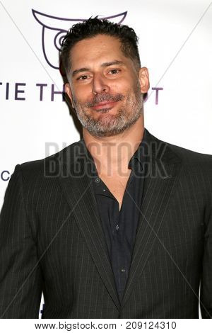 LOS ANGELES - OCT 12:  Joe Manganiello at the Tie The Knot Celebrates 5-Year Anniversary at the NeueHouse on October 12, 2017 in Los Angeles, CA